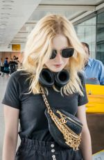 ELLIE BAMBER at Heathrow Airport in London 09/04/2019