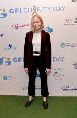 ELLIE BAMBER at Wellbeing of Women GFI Charity Day in London 09/11/2019