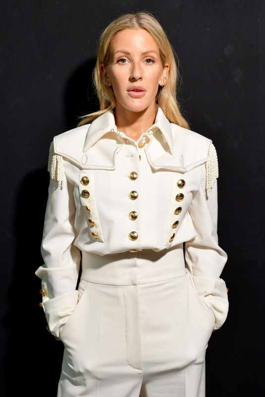 ELLIE GOULDING at Alberta Ferretti Fashion Show at MFW in Milan 09/18/2019