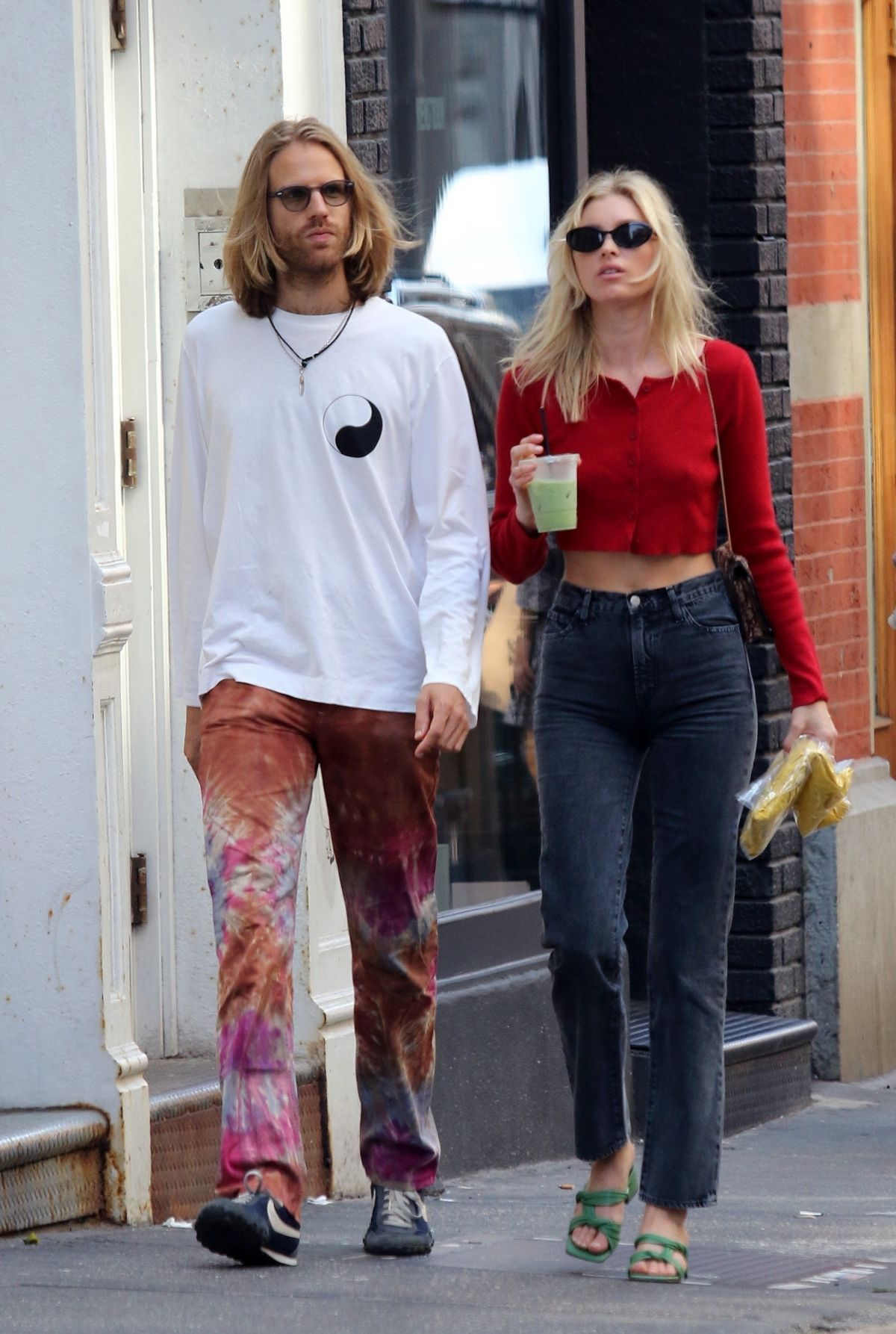 ELSA HOSK and Tom Daly Out in New York 09/11/2019 - HawtCelebs
