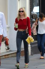 ELSA HOSK and Tom Daly Out in New York 09/11/2019