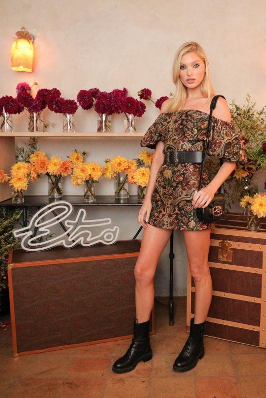ELSA HOSK at Etro Launch in New York 09/09/2019
