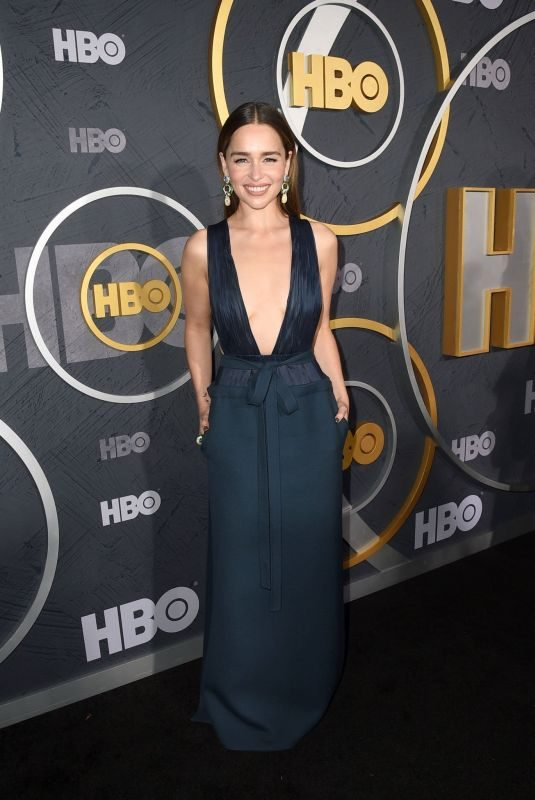 EMILIA CLARKE at HBO Primetime Emmy Awards 2019 Afterparty in Los Angeles 09/22/2019