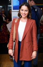 EMILIA CLARKE at What Girls Are Made Of Press Night at Soho Theatre in London 09/12/2019