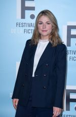 EMILIE DEQUENNE at 21st LA Rochelle Fiction Festival Opening in France 09/11/2019