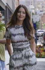 EMILY DIDONATO Out at New York Fashion Week 09/09/2019