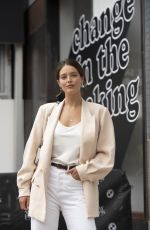EMILY DIDONATO Out at New York Fashion Week 09/10/2019