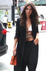 EMILY RATAJKOWSKI Out in New York 09/05/2019