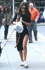 EMILY RATAJKOWSKI Out with Her Dog in New York 09/18/2019
