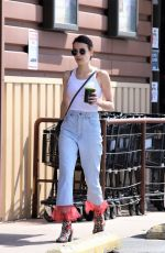 EMMA ROBERTS Out Shopping in Los Angeles 09/19/2019