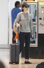 EMMT ROSSUM at JFK Airport in New York 09/04/2019