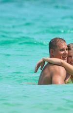 EUGENIE BOUCHARD in Bikini and Connor Davis at a Beach in Miami 09/08/2019
