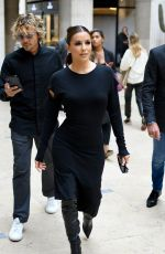 EVA LONGORIA Arrives at Guy Laroche Fashion Show at PFW in Paris 09/25/2019