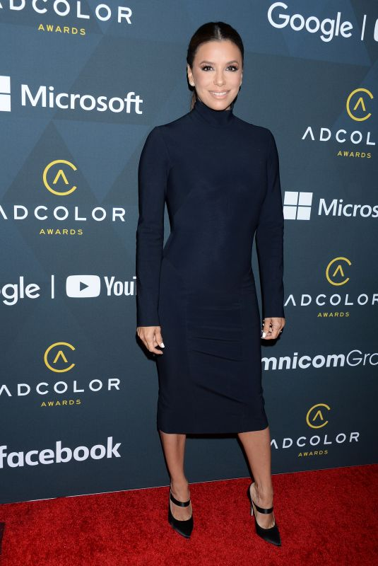 EVA LONGORIA at Adcolor Awards in Los Angeles 09/08/2019