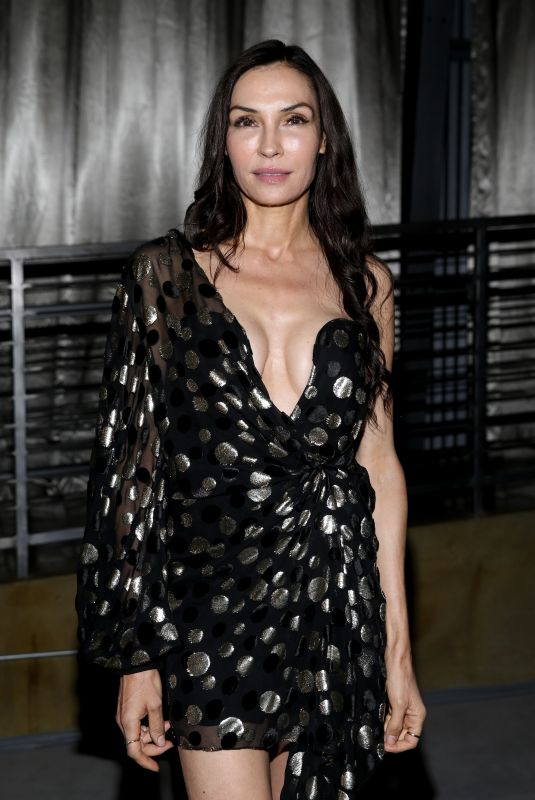 FAMKE JANSSEN at Netflix Emmy Awards Party in Los Angeles 09/22/2019