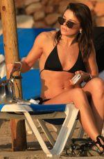 FAYE BROOKES in Bikini at a Beach in Ibiza 09/07/2019