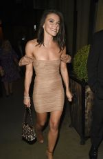 FAYE BROOKES Night Out in Manchester 08/31/2019