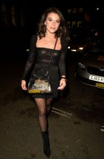 FAYE BROOKES Night Out in Manchester 09/25/2019
