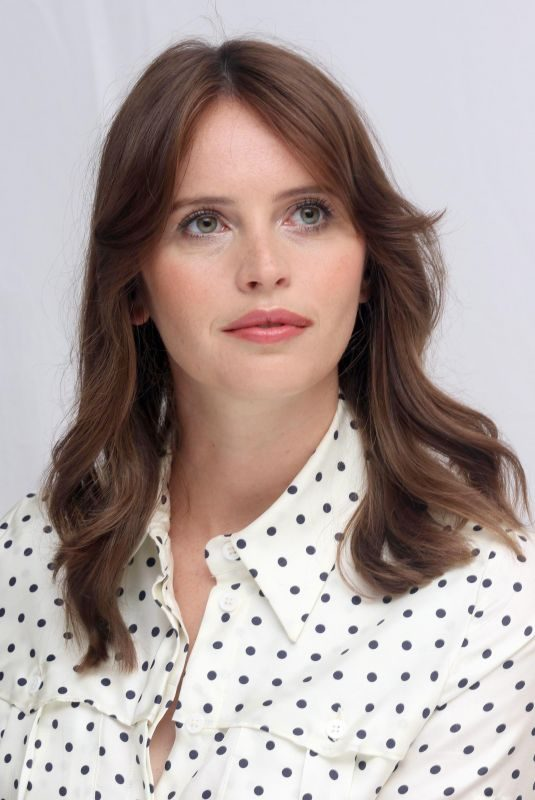 FELICITY JONES at The Aeronauts Press Conference at TIFF in Toronto 09/07/2019