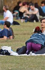 FKA TWIGS and Reuben Esser at a Park in London 09/15/2019