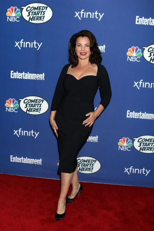 FRAN DRESCHER at NBC's Comedy Starts Here Event in Los Angeles 09/16/2019
