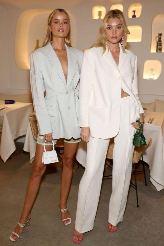 FRIDA AASEN and ELSA HOSK at Oursin Restaurant Opening in Paris 09/24/2019