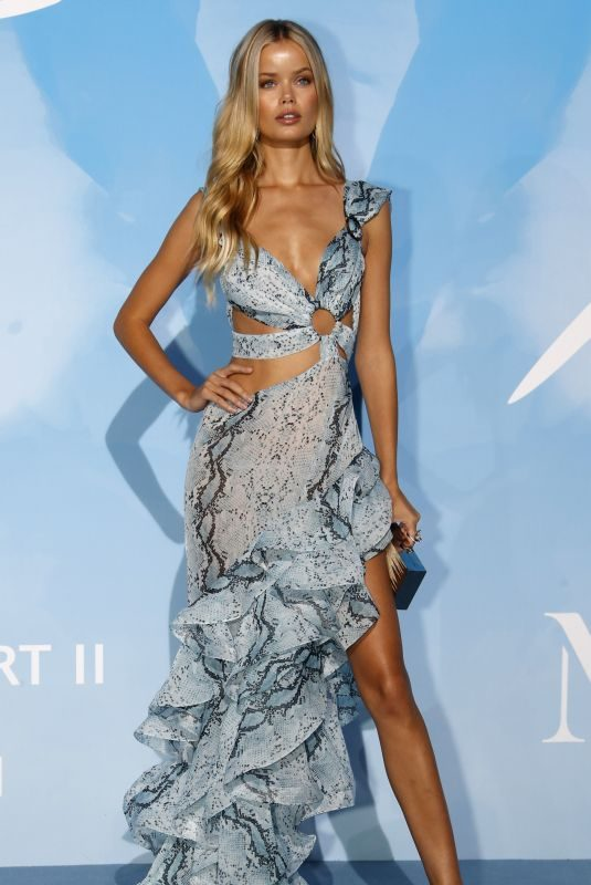 FRIDA AASEN at Gala for the Global Ocean 2019 in Monte-Carlo 09/26/2019