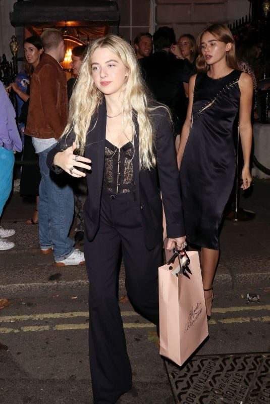 GABRIELLA BROOKS at Welcome to the World of Agent Provocateur in London 09/12/2019