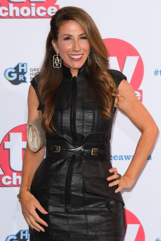 GAYNOR FAYE at TV Choice Awards 2019 in London 09/09/2019