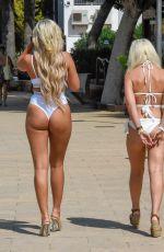 GEORGIA COLE in Bikini at a Beach in Ibiza 09/18/2019