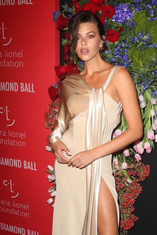 GEORGIA FOWLER at 5th Annual Diamond Ball at Cipriani Wall Street in New York 09/12/2019