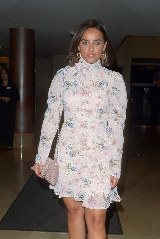 GEORGIA MAY FOOTE at Queen of Diamonds Premier at Mayfair Hotel in London 09/12/2019