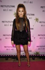 GEORGIA STEEL at Pretty Little Thing x Molly Mae Launch in Manchester 09/01/2019