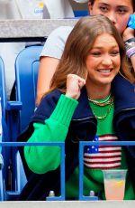 GIGI HADID at US Open 2019 in New York 09/07/2019