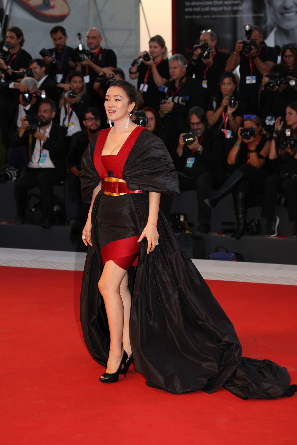 Gong Li At Saturday Fiction Premiere At 76th Venice Film