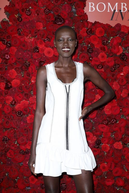 GRACE BOL at Victoria's Secret Bombshell Intense Launch Party in New York 09/05/2019