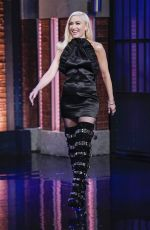 GWEN STEFANI at Late Night with Seth Meyers in New York 09/24/2019
