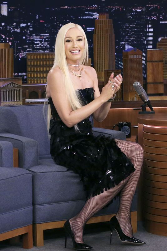 GWEN STEFANI at Tonight Show Starring Jimmy Fallon in New York 09/23/2019