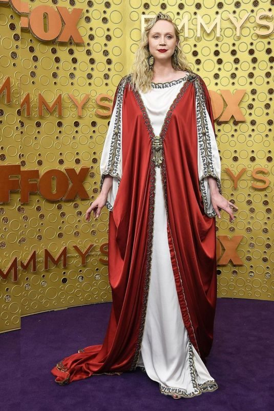 GWENDOLINE CHRISTIE at 71st Annual Emmy Awards in Los Angeles 09/22/2019