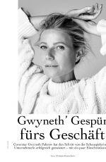 GWYNETH PALTROW in Myself Magazine, October 2019