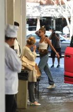 HAILEY BIEBER Arrives at a Dermatologist Office in Beverly Hills 09/12/2019