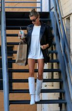 HAILEY BIEBER Leaves Business Meeting in Beverly Hills 09/17/2019