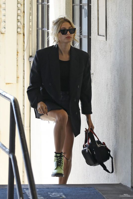 HAILEY BIEBER Out and About in Beverly Hills 09/20/2019
