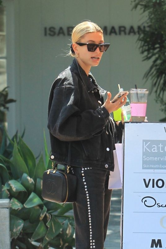 HAILEY BIEBER Out and About in Los Angeles 09/11/2019