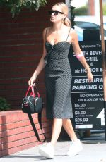 HAILEY BIEBER Out in Los Angeles 09/25/2019