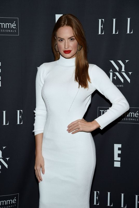 HALEY KALIL at E!, Elle, and Img NYFW Kick-off Party in New York 09/04/2019