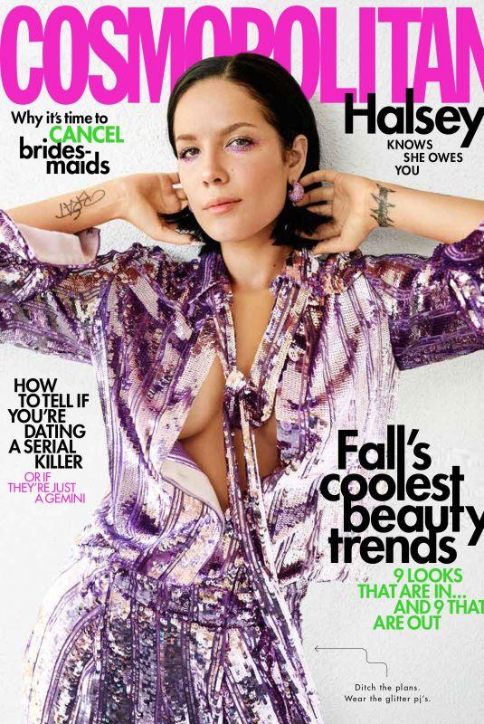 HALSEY in Cosmopolitan Magazine, October 2019