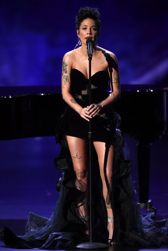 HALSEY Performs at 71st Primetime Emmy Awards in Los Angeles 09/22/2019
