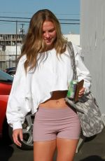 HANNAH BROWN Arrives at DWTS Rehersal in Studio City 09/02/2019