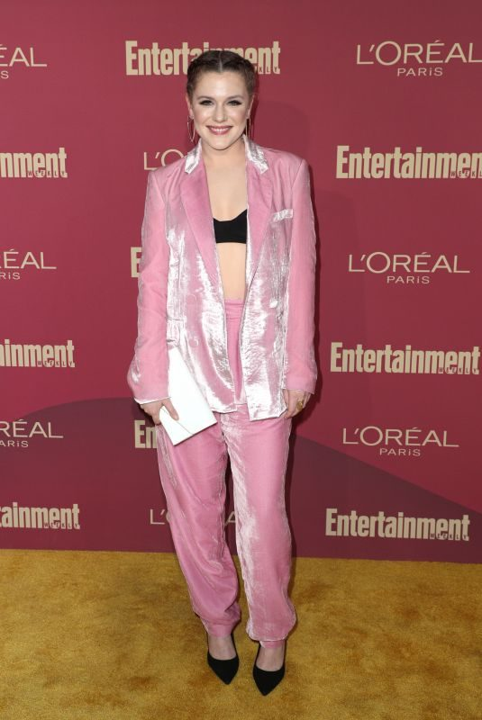 HARRIET DYER at 2019 Entertainment Weekly and L'Oreal Pre-emmy Party in Los Angeles 09/20/2019